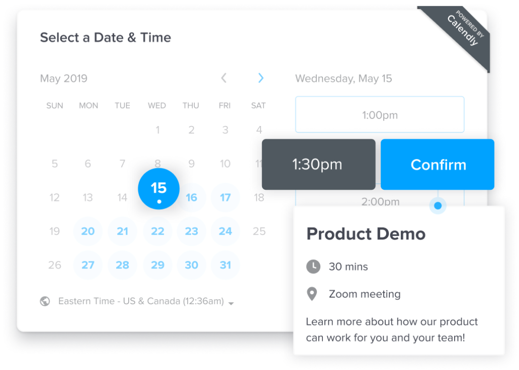 calendly example
