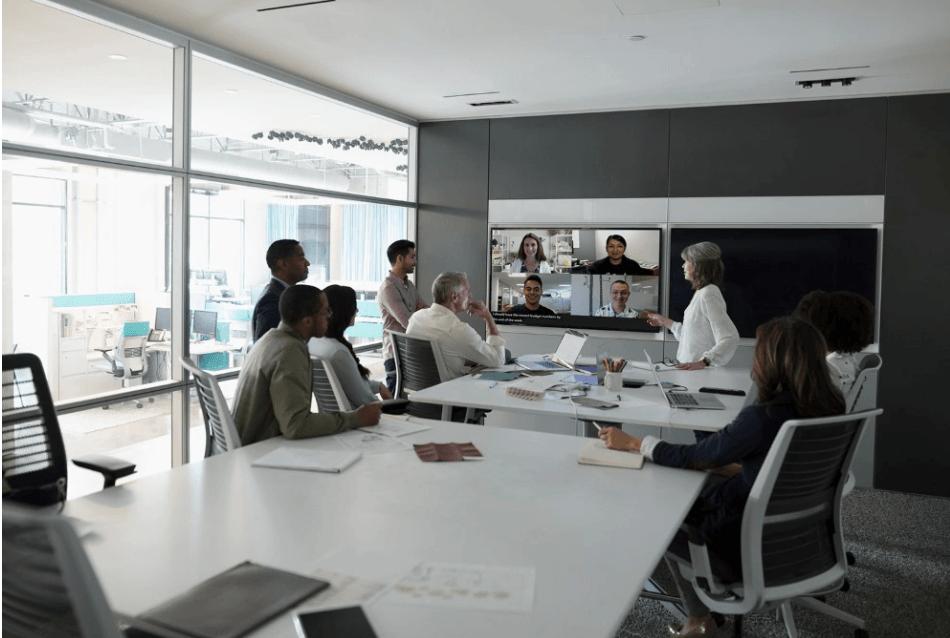 Microsoft teams Web Conferencing