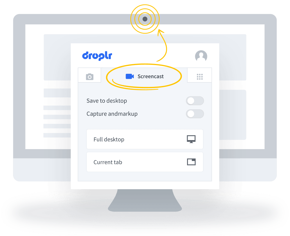 droplr screencast