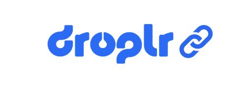 droplr logo with link