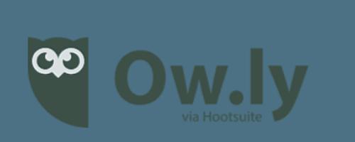ow.ly via hootsuite logo
