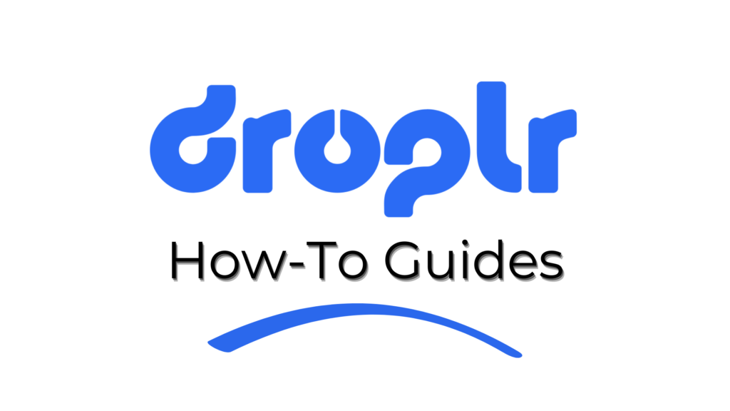 droplr how-to guides