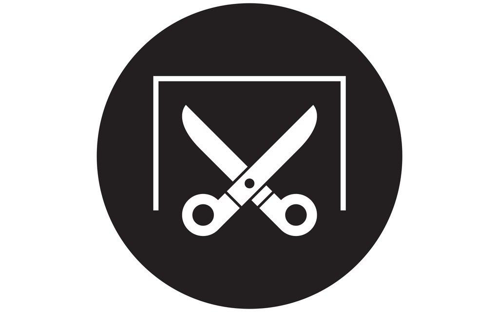 open scissors icon