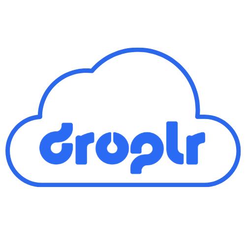 droplr logo in a cloud