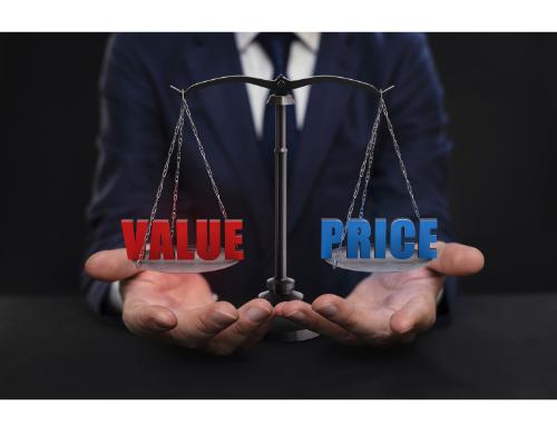 measuring value vs price