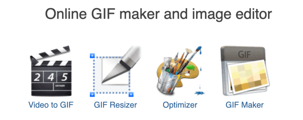 online gif maker and image editor
