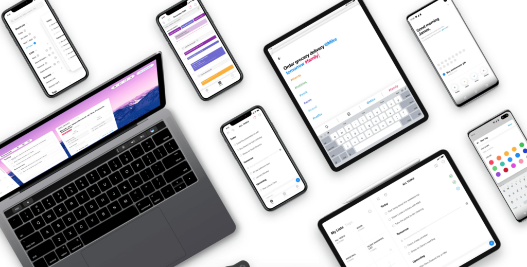 any.do display on multiple devices
